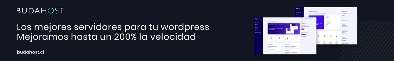Budahost con wordpress