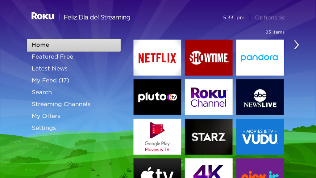 Roku Streaming Day