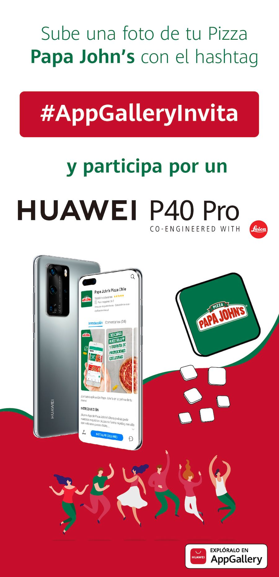 Pizza AppGallery HUAWEI