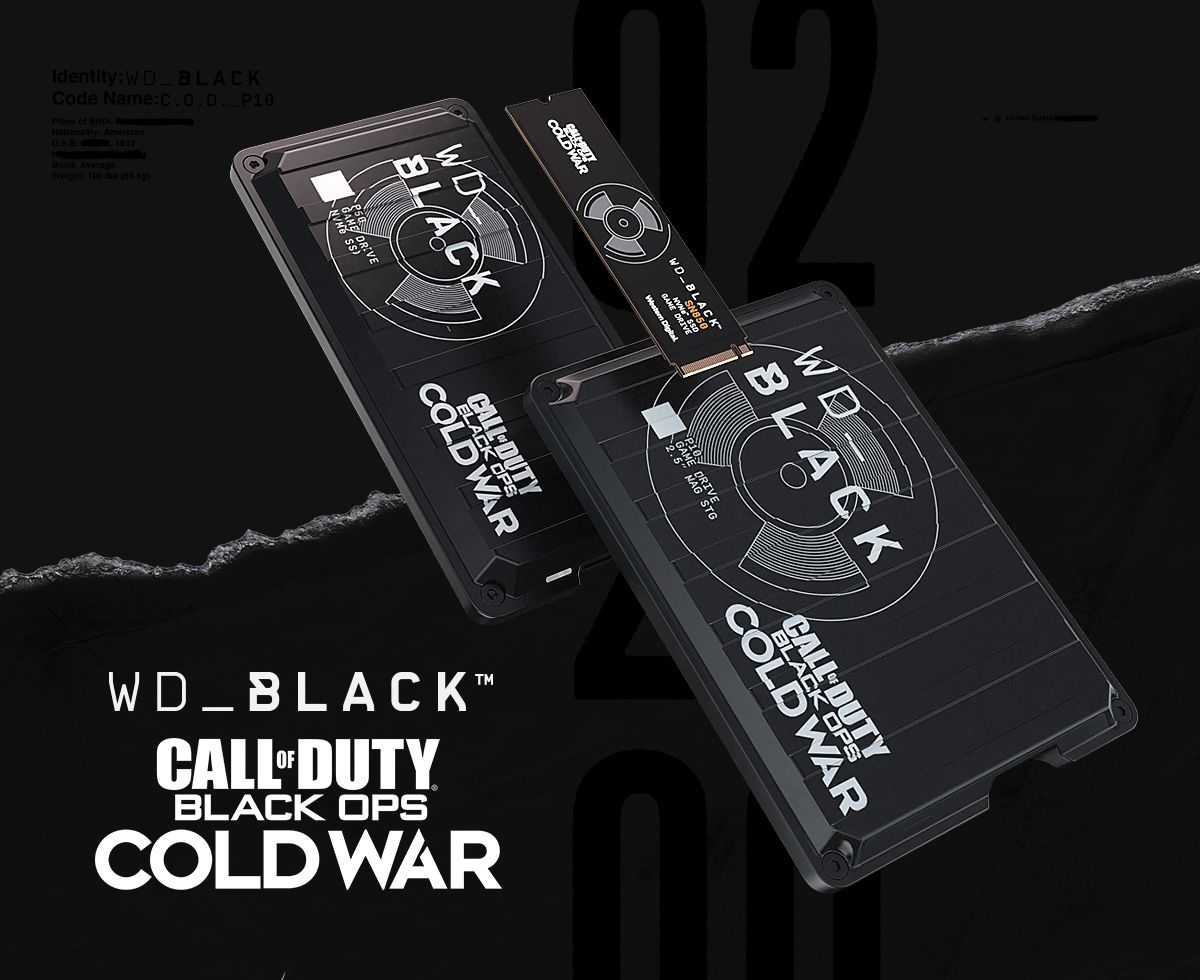 WD Black Call Of Duty